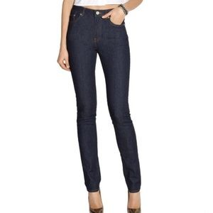 """Acne Pin Raw Skinny Jeans (34"""" length)"""